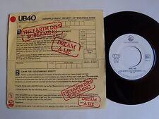 "UB40 : The earth dies screaming / Dream a lie 7"" 45T 1980 French GRADUATE 101386"