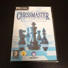 Chessmaster: 10th Edition PC DVD Computer Videospiel UK Version NEU & VERSIEGELT