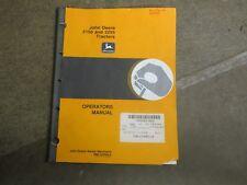 John Deere 2150 2255 tractor owners & maintenance manual