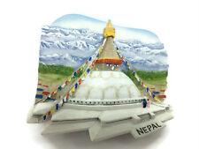 Bouddhanath Stupa NEPAL SOUVENIR 3D FRIDGE MAGNET SOUVENIR TOURIST Collection