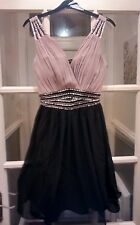 Little Mistress Fit and Flare Skater prom party dress size 12 only £26.99