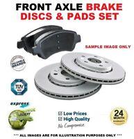FRONT BRAKE DISCS & PADS SET for KIA SPORTAGE 2.0 CRDi 2010->on