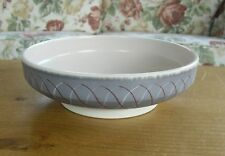 "Mid-Century Poole Pottery Freeform PRP Pattern Bowl - 8 1/8""(>20.5cms)"