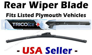 Rear Wiper WINTER Beam Blade Premium fits Listed Plymouth Vehicles - 35160