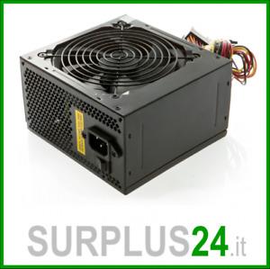Alimentatore Computer Pc 600w watt 20+4 Pin ATX Desktop Power Supply GARANTITO