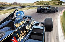 Peterson Andretti Lotus F1 Print by Andrew Kitson