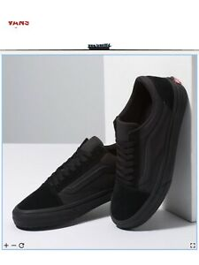 NIB Vans Made For The Makers Old Skool All Black Size: 12