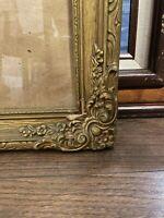 Ornate ~ Vintage ~ Gold Gilt ~ Wood ~ Picture Art Frame