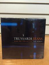 Trussardi Jeans Pour Femme Perfume EDT Spray 2.5oz / 75ml  NIB Sealed Rare