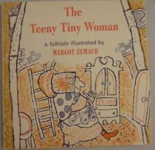 Vtg 1965 RARE The Teeny Tiny Woman Folktale Scholastic Children's Book Zemach