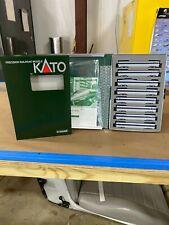 "KATO N Scale 500 Series Shinkansen ""Nozomi"" Add-On Car Set"