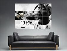 2PAC TUPAC LEGEND RAPPER HIP HOP Wall Art Poster Grand format A0 Large Print