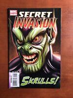 Secret Invasion #1 (2008) 9.2 NM Marvel Key Issue Comic Book Skrulls One Shot