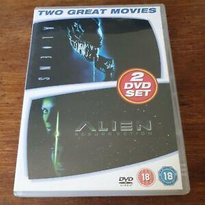 Aliens + Alien Resurrection Double DVD (Region 2 Europe) LIKE NEW