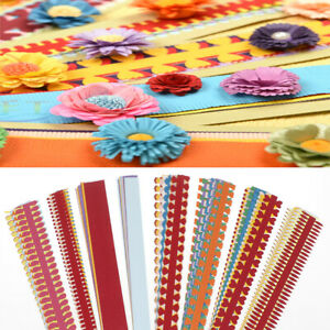 1 bag flower quilling paper strips colorful origami diy paper hand craft di `hw