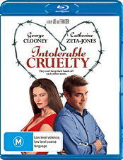 Intolerable Cruelty - Comedy -George Clooney, Catherine Zeta-Jones - NEW Blu Ray