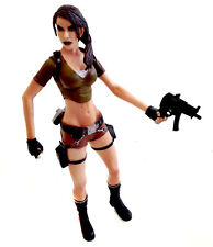 "TOMB RAIDER  6"" ps3 wii Xbox Game Based Action Figure with one weapon"