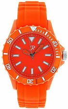 Reflex SR004 Ladies / Unisex Orange Silicon Sports Watch