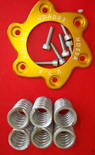 Ducati Dry Clutch Gold Retainer Spring ALLOY Spider A2 Stainless Kit Monster