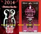 Medicom 2014 Be@rbrick Merry Christmas 100% Xmas Night Tree Bearbrick 1pc