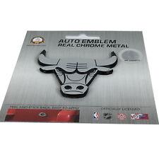 New NBA Chicago Bulls Real Chrome Metal 3D Heavy Duty Car Truck Auto Emblem