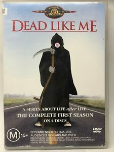 Dead Like Me - Complete First Season - 4 DVD Set - AusPost with Tracking