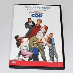 Kindergarten Cop 1990 Comedy Arnold Schwarzenegger Full Screen DVD