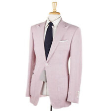 NWT $5800 TOM FORD 'O'Connor' Lilac Pink Woven Wool-Linen-Silk Suit 38 R (Eu 48)
