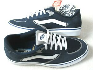 Vans Mens Geoff Rowley Rapidweld Pro Ultracush Skate Shoes Navy White Size 8.5