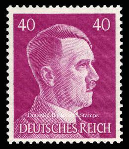 EBS Germany 1941 - Hitler Head - 40 Pfennig - Hitlerkopf - Michel 795 MNH**