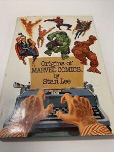 ORIGINS OF MARVEL COMICS By Stan Lee - Hardcover
