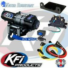 KFI 2500LBS Winch Kit & Winch Mount For 2014-2019 Honda TRX420FE Rancher ES