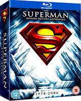 SUPERMAN 5 FILM COLLECTION 1978-2006 BLU RAY Christopher Reeves