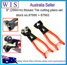 "Mosaic Tile Cutting Plier Set,Hand Tile Cutter Pliers 8"" for Mosaic & Glass Tile"