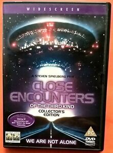 Close Encounters of the Third Kind 2xDVD Region 2 Spielberg Dreyfuss Truffaut
