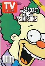 2000 TV Guide - The Simpsons - Krusty - Big Brother - Tim Russert - Eminem