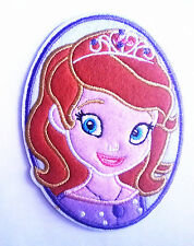 PRINCESS SOFIA PORTRAIT Embroidered Iron On / Sew On Patch