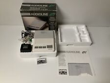 Audioline 831 Telephone Answering Machine Boxed Powers Up But Not Fully Tested