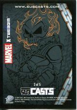 Marvel Masterpieces 2007 Subcast Chase Card #3 Ghost Rider