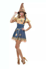 NWT Sexy Woman's Cornfield Scarecrow Cutie Costume S (4-6)