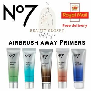 No7 Airbrush Away Primers before Foundation ALL Skin Type BRAND NEW Free UK Dewy
