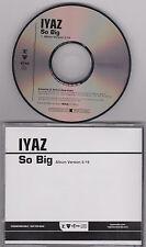 IYAZ - SO BIG - 2010 CD SINGLE