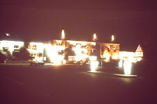 Vintage Kodak Kodachrome Slide Negative Hotel Helmsley Illuminated At Night 1979