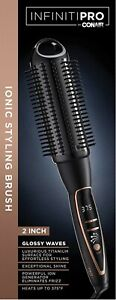 INFINITIPRO BY CONAIR Platinum Hot Curl Brush, 2-Inch