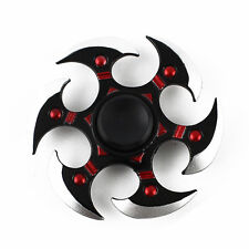 Naruto Hand Spinner Fidget Shuriken EDC ADHD Metal Bearing Rotating DartsToys