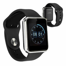 "GW08 1.54"" Bluetooth Remote cam Smart Watch Phone mate TF&SIM For Android IOS"