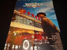 TUCKER  francis coppola   affiche cinema  cars automobile