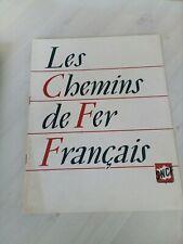 1951 livret document présentation sncf cheminot-les chemins de fer français !