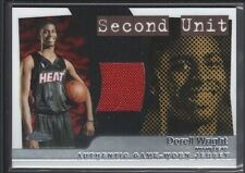DORELL WRIGHT 2005/06 TOPPS CHROME SECOND UNIT GAME JERSEY HEAT 187/400 SP $12