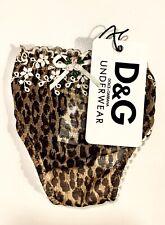 Dolce&Gabbana String-Tanga Slip Gr. S New Leopard Animal Print M51306 NEU